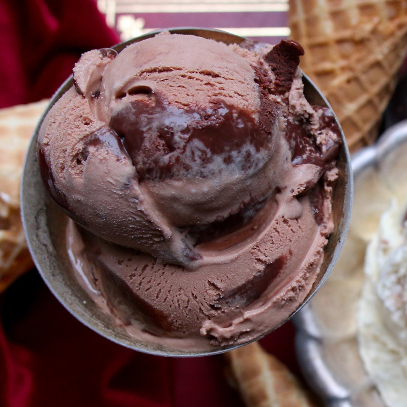 In Celebration Of The Most Beautiful Chocolate Ice Creams Beautifulnow